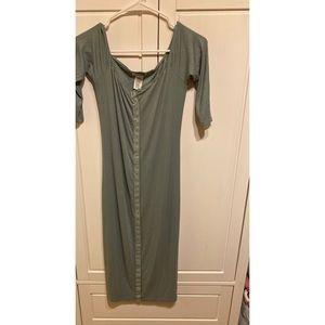 Long tight dress